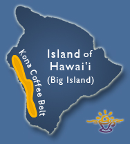 Big Island of Hawaii Map